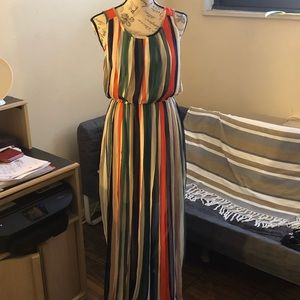 Dresses & Skirts - Women's multi color maxi dress